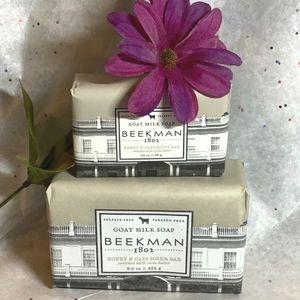 Beekman 1802 Honey & Oats-1 large+1 small Soap Bar